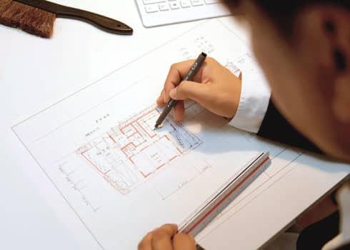 3人の一級建築士がプランをご提案します。