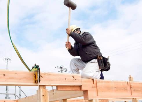 一流の職人たちによる施工がはじまります。