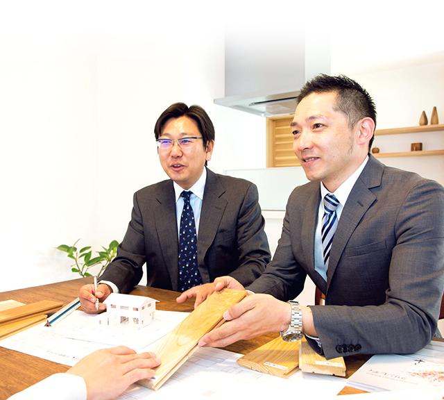 3人の一級建築士写真